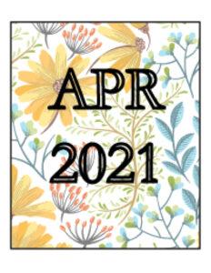 April 2021 Newsletter Cover Art
