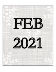Advocates 4 Seniors - February 2021 Newsletter Cover Art